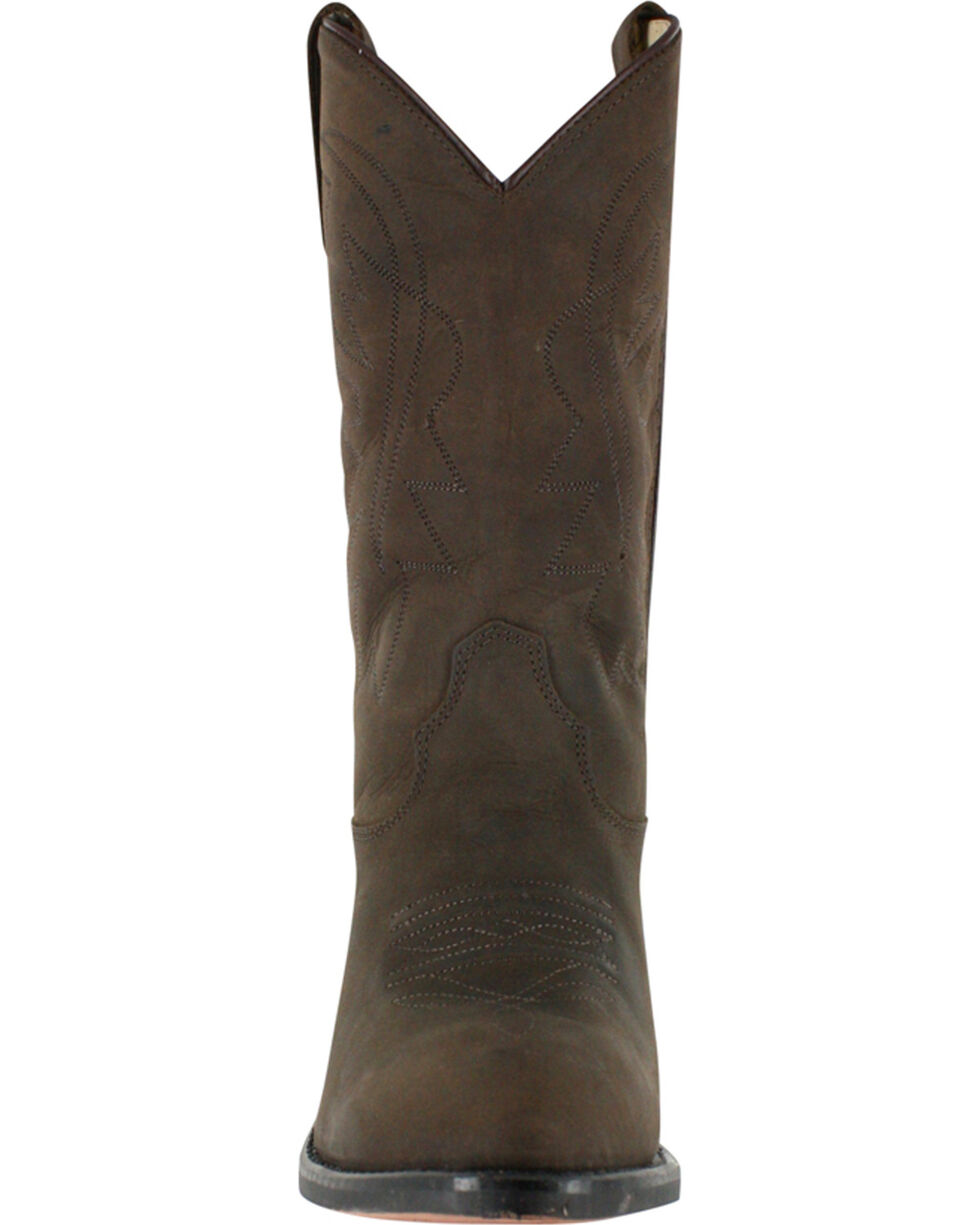Cody James Youth Boys' Brown Distressed Western Boots - Pointed Toe , Distressed Brown, hi-res