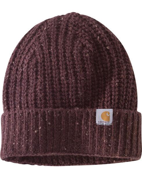 Carhartt Women's Fudge Heather Clearwater Hat, Brown, hi-res