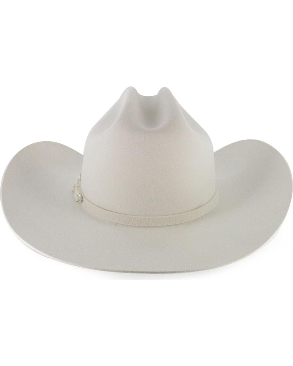 Stetson 3X Wool Cowboy Hat, White, hi-res
