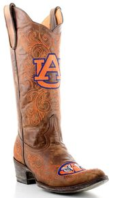 9f868b5e552667 Gameday Auburn University Cowgirl Boots - Pointed Toe