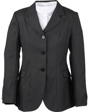 Dublin Kids' Ashby Show Coat, Black, hi-res