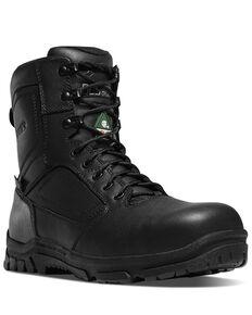 Danner Men's Lookout EMS Work Boots - Composite Toe, Black, hi-res