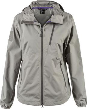 5.11 Tactical Women's Cascadia Windbreaker Jacket, Slate, hi-res