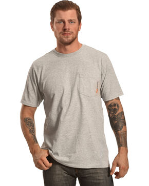 Timberland Men's Base Plate Blended T-Shirt , Light Grey, hi-res