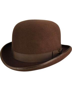 Bailey Men's Pecan Western Reinsman Derby Hat , Pecan, hi-res