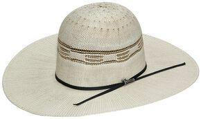 Twister Bangora Open Crown Cowboy Hat, Natural, hi-res