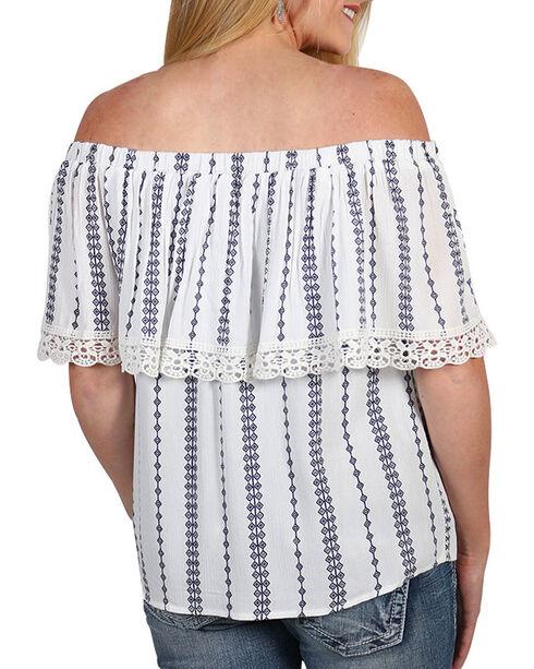Tempted Women's Striped Off The Shoulder Top, , hi-res