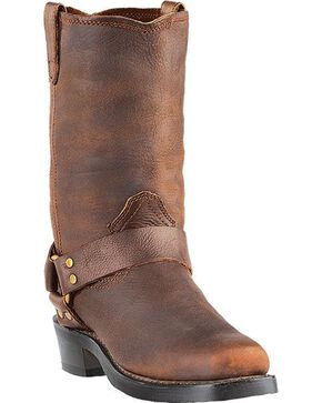 Dingo Men's Dean Harness Boots - Square Toe, Gaucho, hi-res