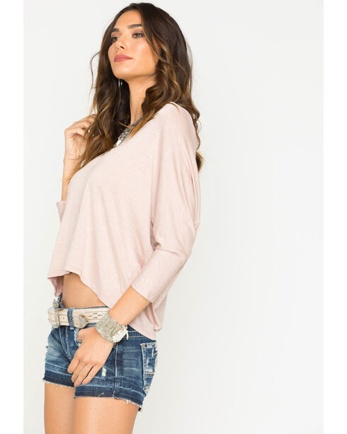 Sage the Label Women's Natural Striped Top , Natural, hi-res
