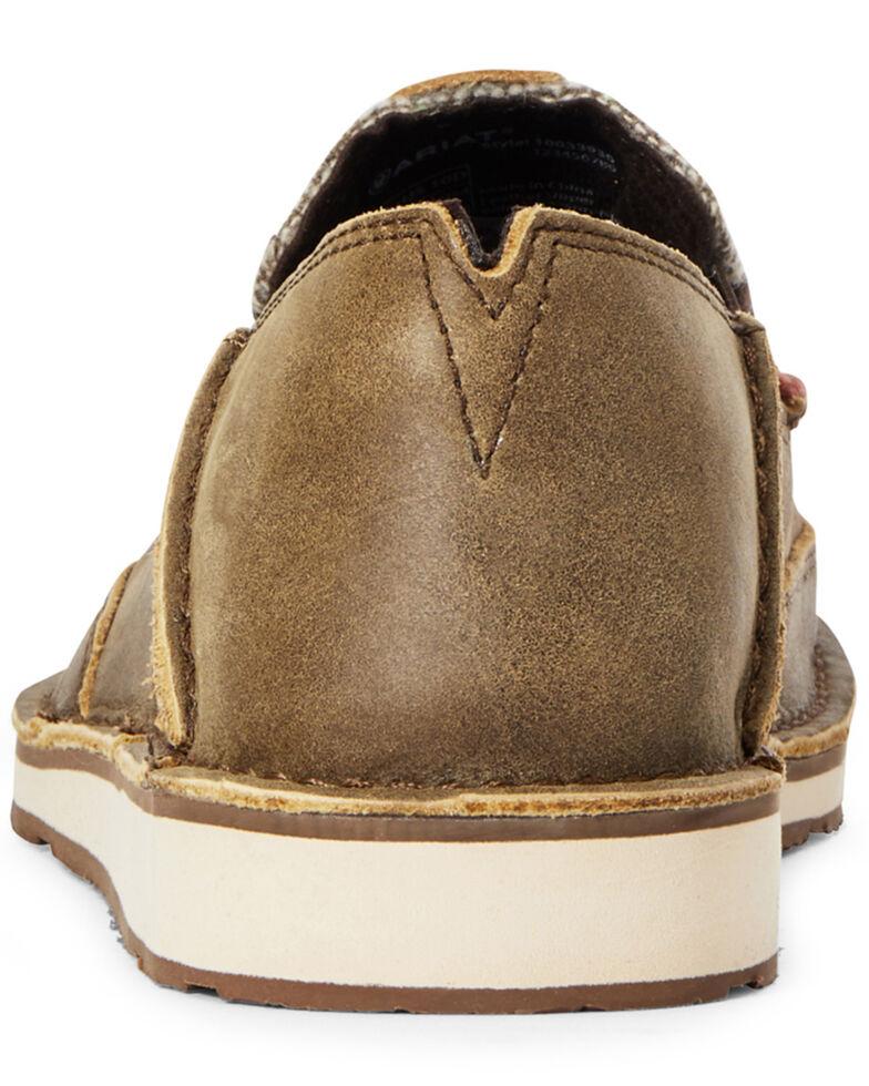 Ariat Men's Cruiser Bomber Geo Print Shoes - Moc Toe, Brown, hi-res