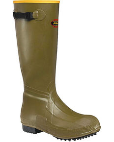 """LaCrosse Men's Burly Air-Grip 18"""" Hunting Boots - Round Toe , Green, hi-res"""