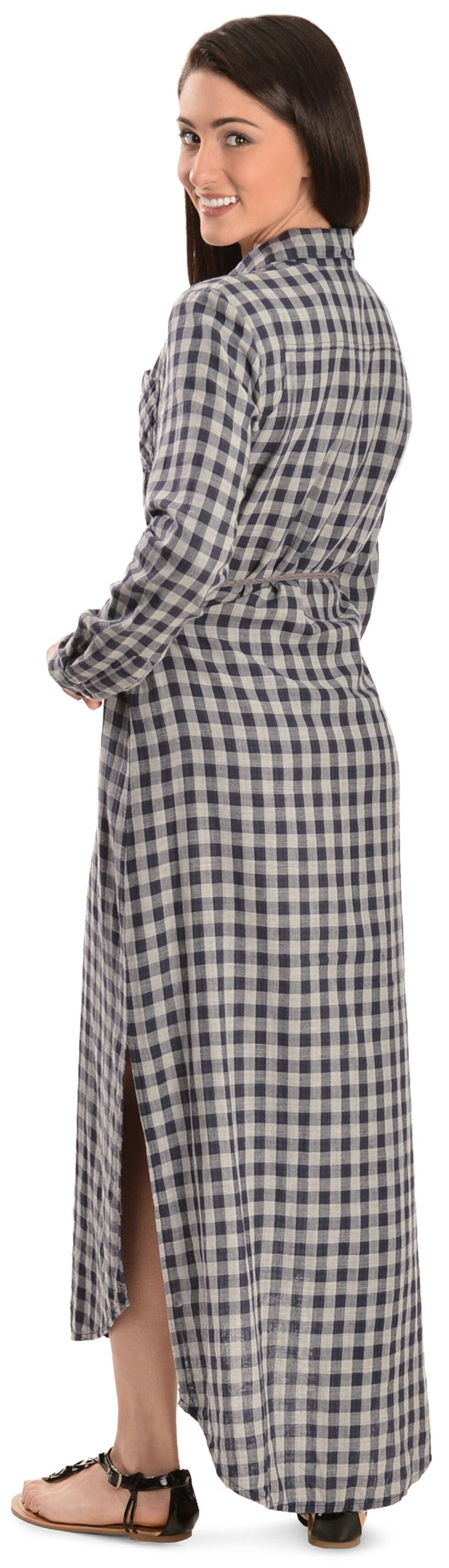 White Crow Middy Shirt Dress, Blue, hi-res