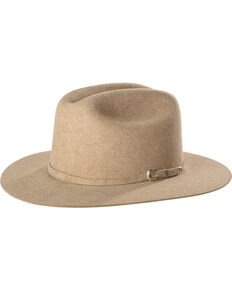 Justin Men's Natural 15X Newman Cowboy Hat , Natural, hi-res