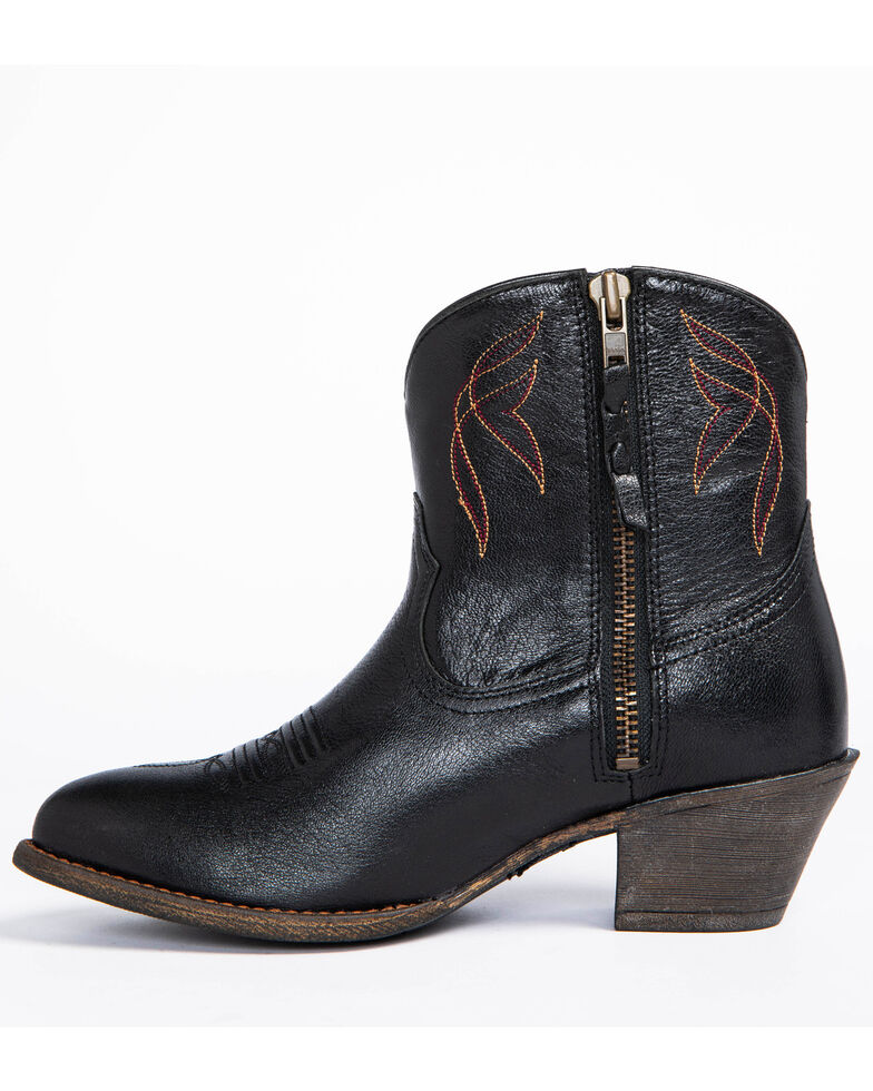 Ariat Women's Darlin Booties - Medium Toe , Black, hi-res