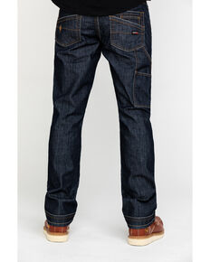 Ariat Men's FR M4 Workhorse Duralight Low Stretch Straight Work Jeans , Indigo, hi-res
