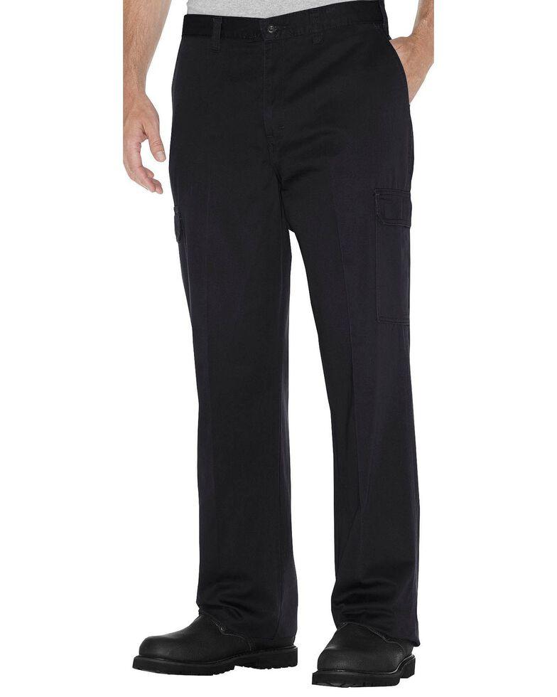 Dickies Cargo Work Pants, Black, hi-res