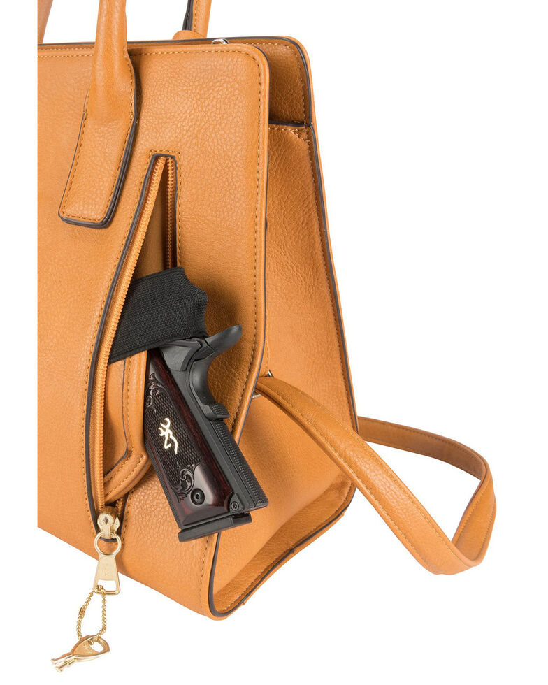Browning Women's Trudy Concealed Carry Handbag, Honey, hi-res