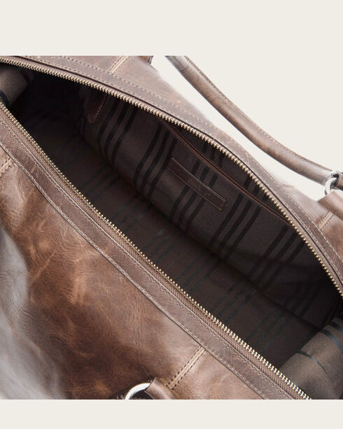Frye Men's Logan Leather Overnight Bag , , hi-res