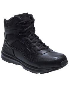 Bates Men's Raide Work Boots - Soft Toe, Black, hi-res
