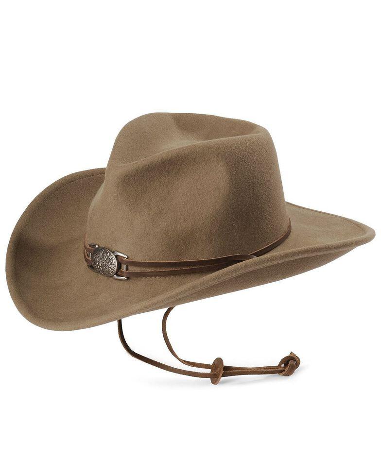 Juniper Wool Felt Cowgirl Hat, Prairie, hi-res