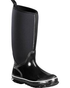 Baffin Women's Black Meltwater Rubber Boots - Round Toe , Black, hi-res