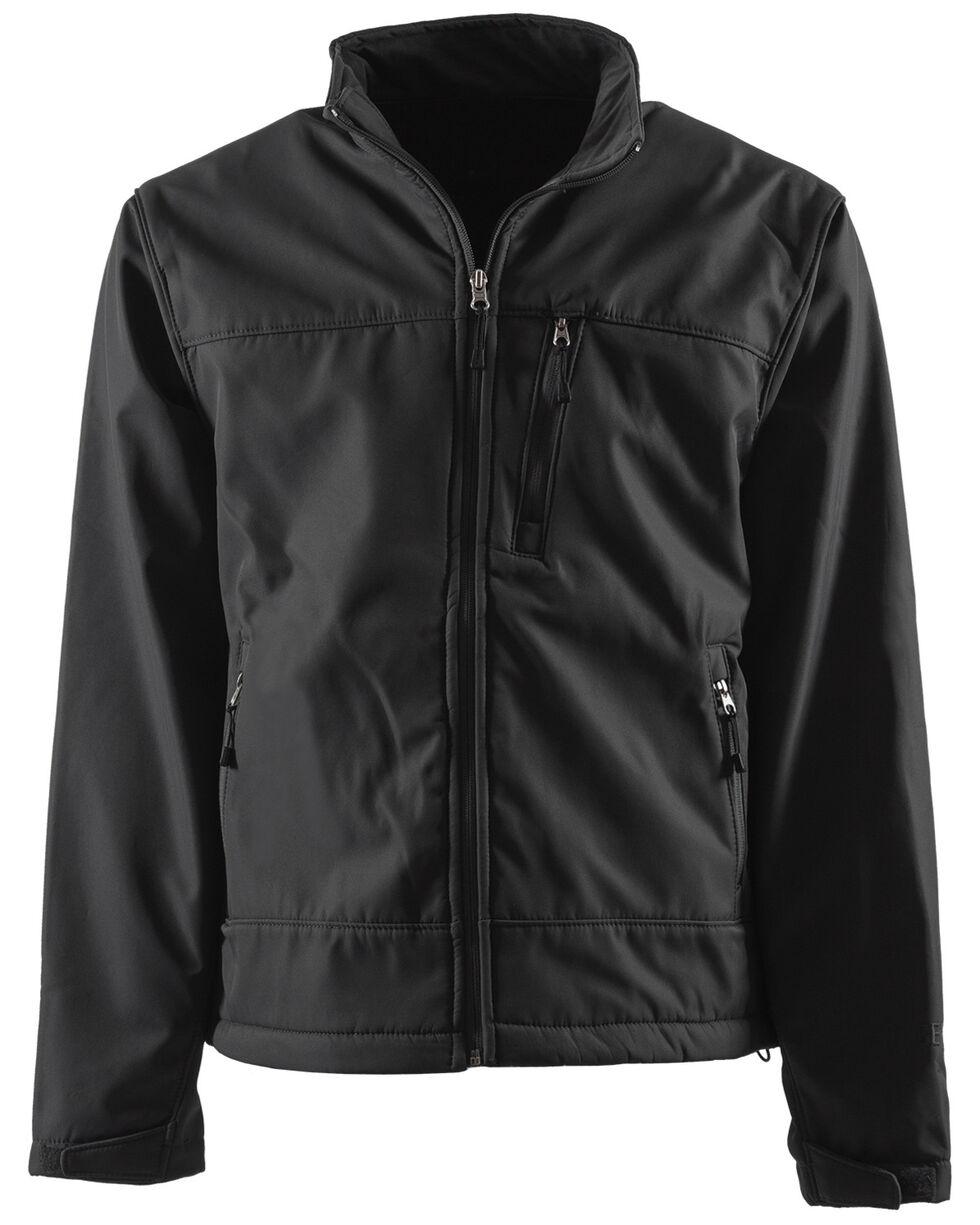 Berne Eiger Softshell Jacket - Big and Tall, Black, hi-res