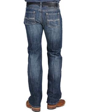 Rock & Roll Cowboy Men's Pistol Jeans - Straight Leg, Dark Blue, hi-res