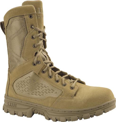 """5.11 Tactical Men's EVO 8"""" Boots, Coyote Brown, hi-res"""