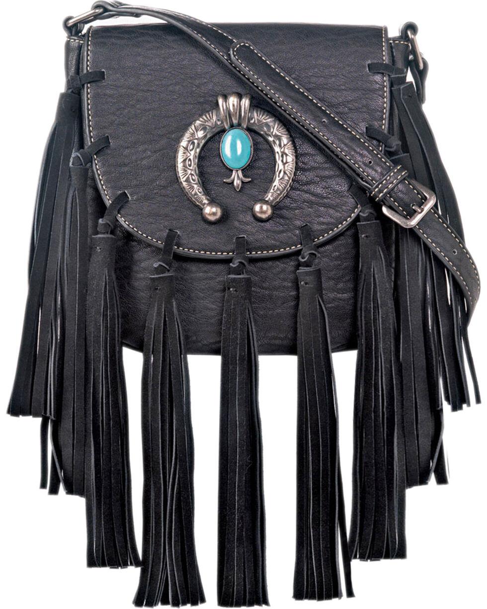 Blazin Roxx Shelby Concealed Carry Crossbody Bag, Black, hi-res