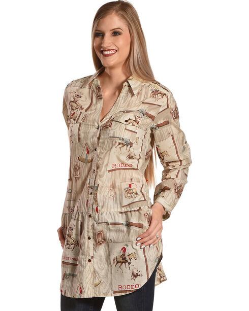 Tasha Polizzi Women's Four Corners Tunic, Multi, hi-res