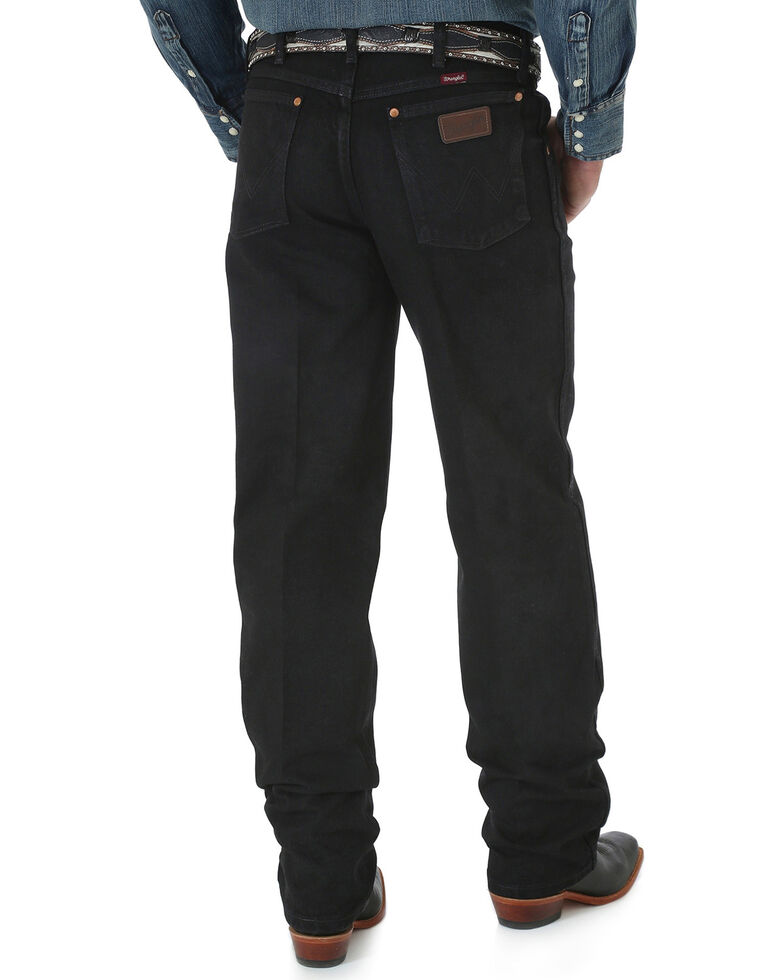 Wrangler Cowboy Cut Relaxed Fit Prewashed Jeans - Shadow Black, Shadow Black, hi-res