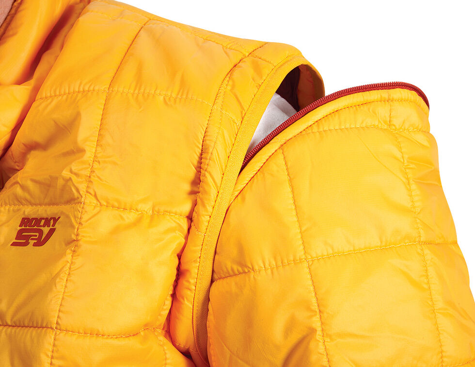Rocky S2V Agonic Mid-Layer Jacket, Yellow, hi-res