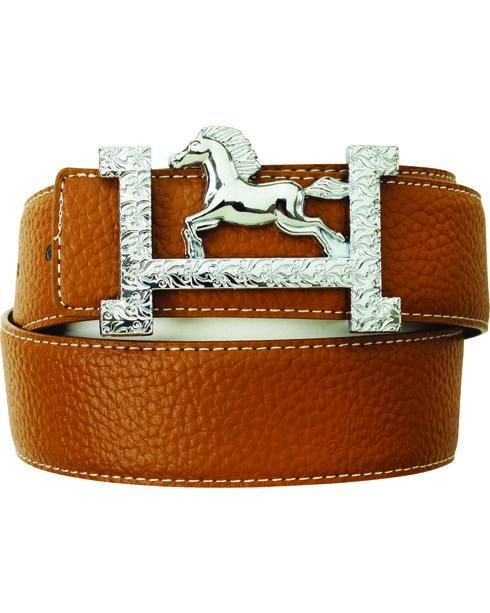 Ovation  Fashionista Belt, Brown, hi-res