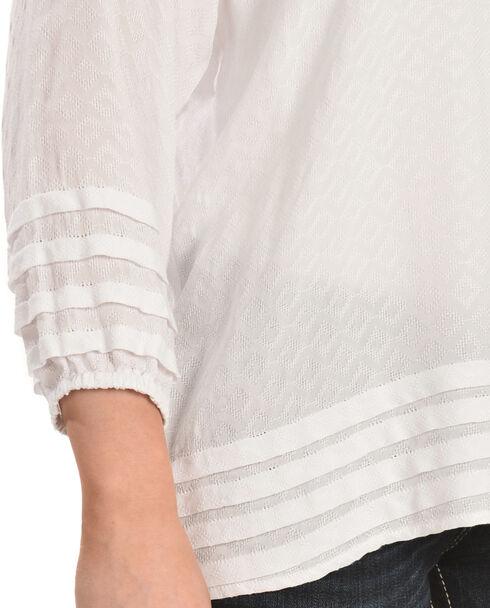 Ariat Women's Nanci Blouse, White, hi-res