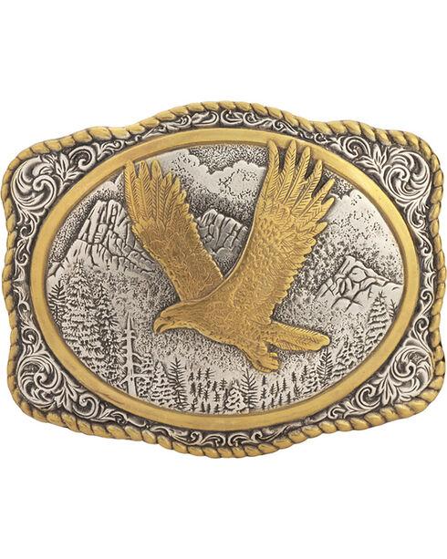 Gold-Tone Eagle Buckle, Multi, hi-res