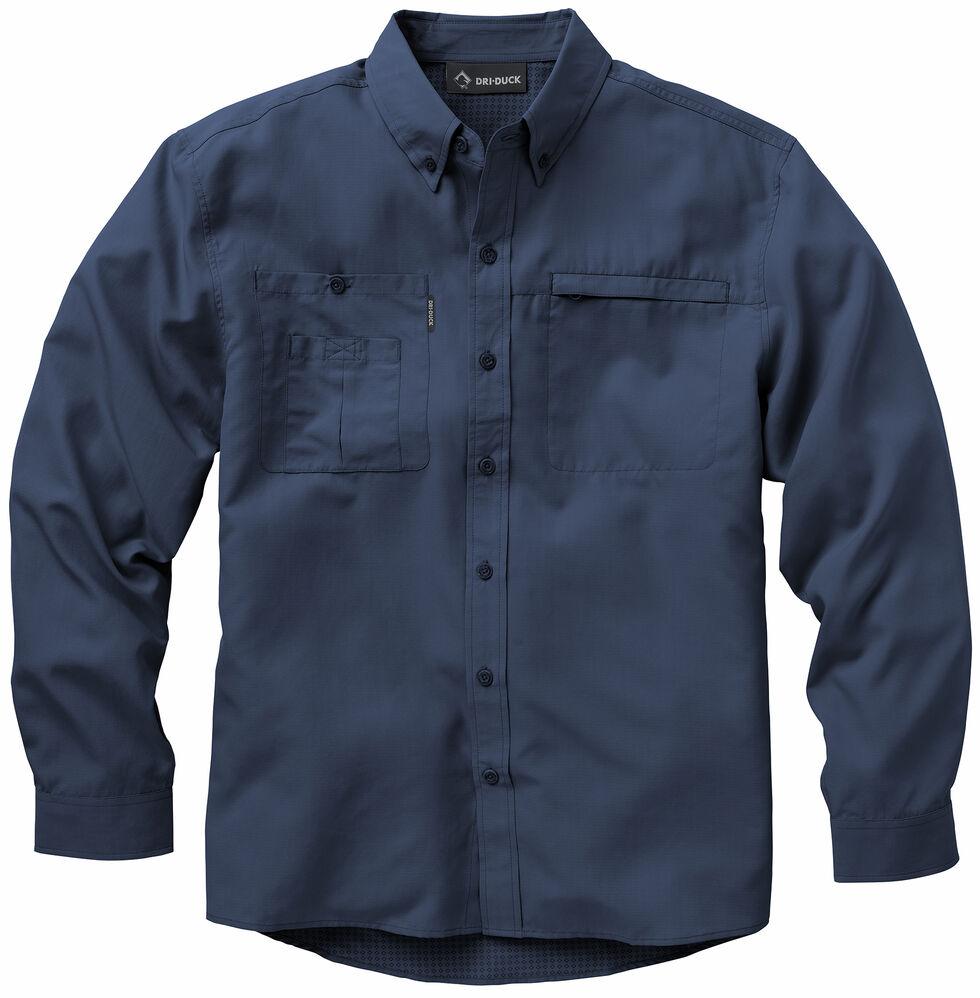 Dri Duck Men's Regulator Shirt, Dark Blue, hi-res