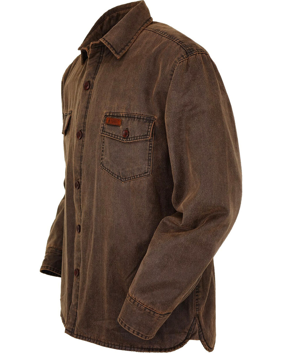 Outback Trading Co. Men's Brown Loxton Jacket , Brown, hi-res