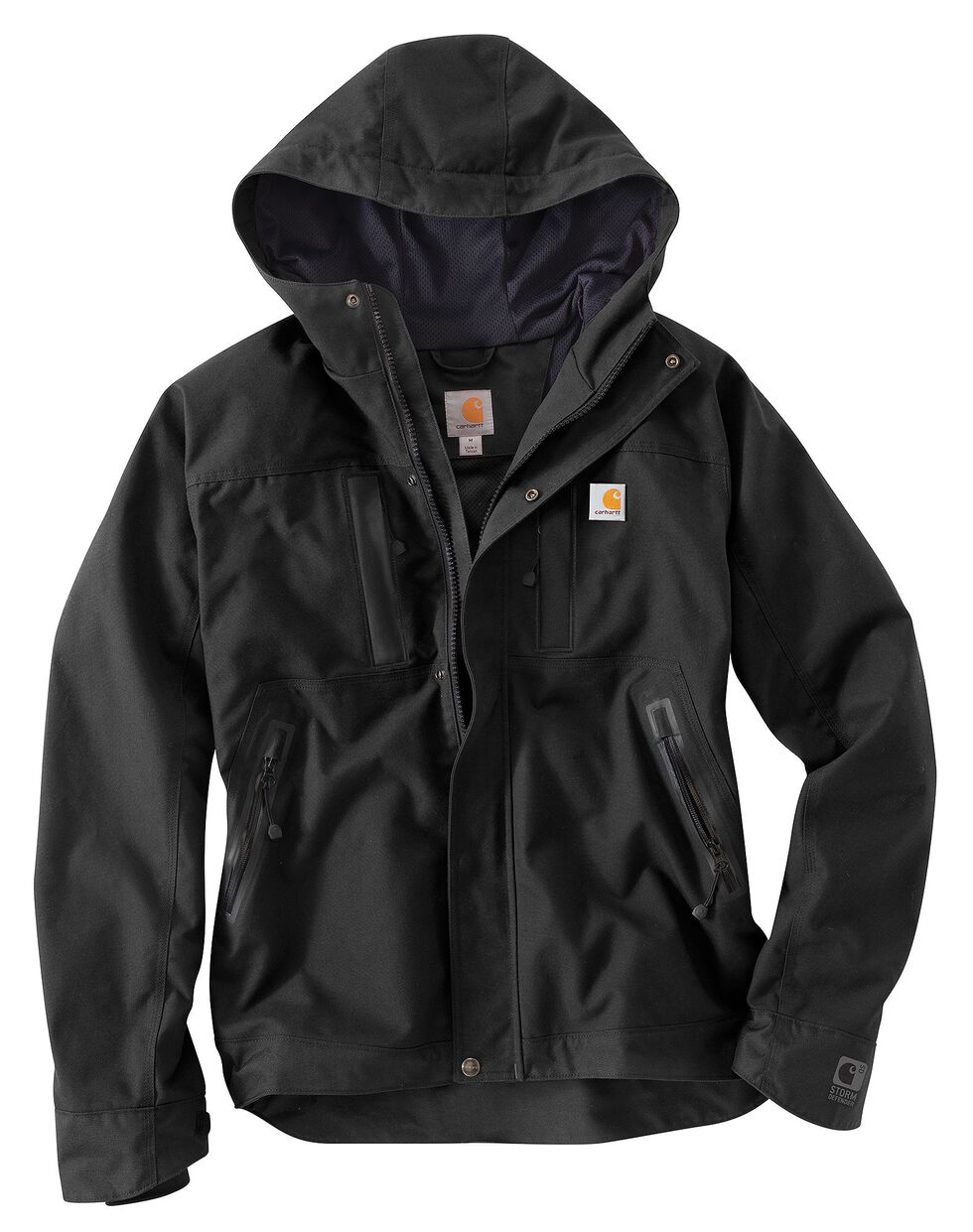 Carhartt Quick Duck Harbor Jacket, Black, hi-res