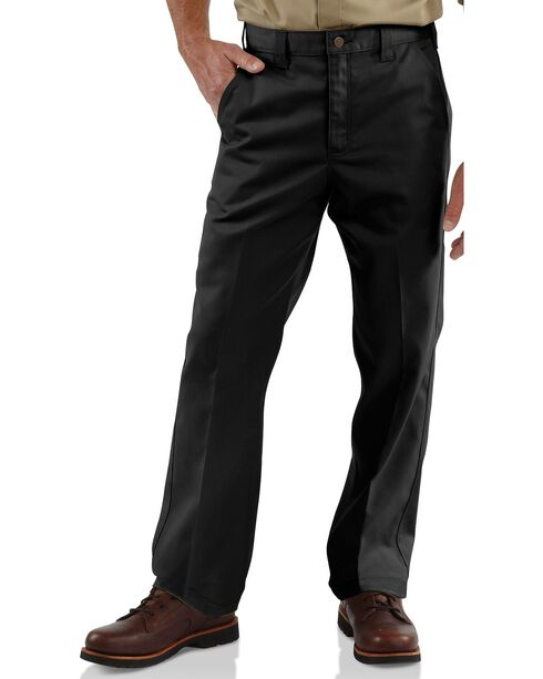 Carhartt Blended Twill Chino Work Pants, Black, hi-res
