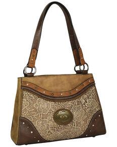 Justin Women's Tonal Tote Bag, Tan, hi-res