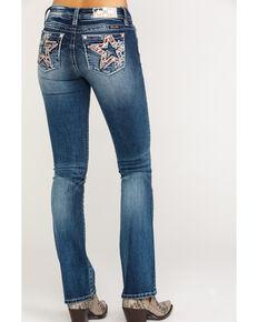 2e2e1dddcb5 Miss Me Womens Mid Flag Dark Boot Jeans , Blue, hi-res