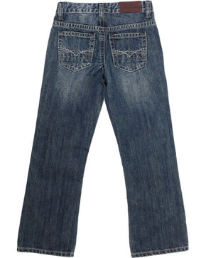 Cody James Big Boys' Dusty Trail Boot Cut Jeans, Blue, hi-res