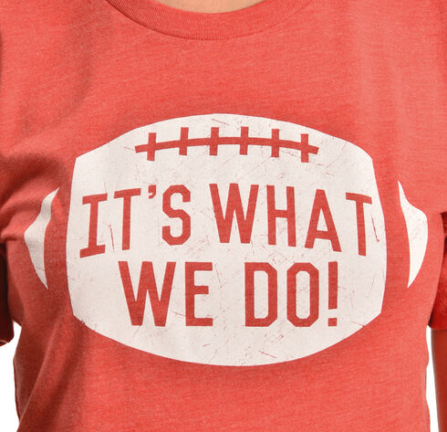 ATX Mafia It's What We Do Red Tee, Red, hi-res