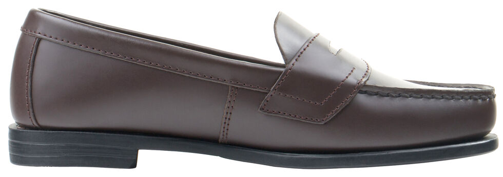 Eastland Women's Burgundy Classic II Penny Loafer , Brown, hi-res