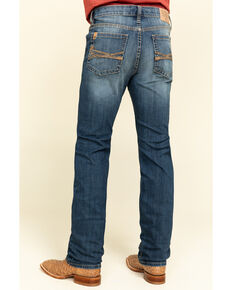Cody James Core Men's Sidewinder Performance Stretch Slim Straight Jeans , Blue, hi-res