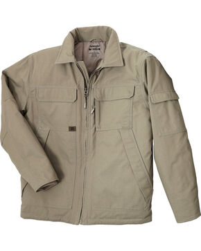 Wrangler Men's RIGGS Workwear Ranger Jacket - Big & Tall, Dark Khaki, hi-res