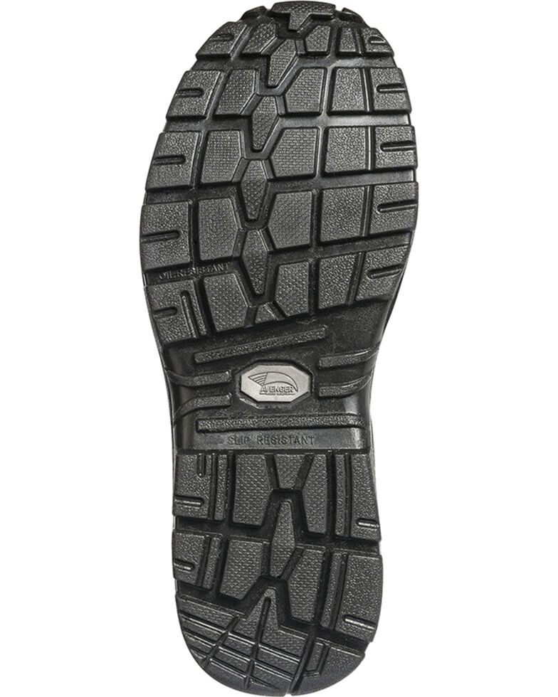 Avenger Women's Waterproof Hiker Work Boots - Steel Toe, Black, hi-res