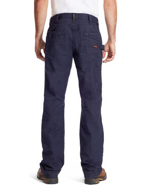 Ariat Men's FR M4 Navy Workhorse Jeans - Boot Cut, Navy, hi-res