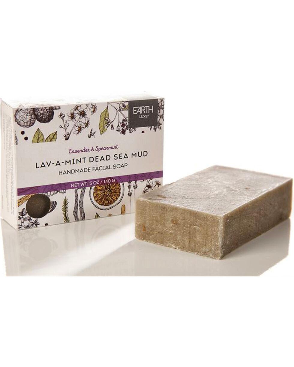 Earth Luxe Lav-A-Mint Dead Sea Mud All Natural Facial Soap, No Color, hi-res