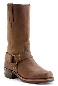 Frye Men's Harness 12R Boots - Square Toe, Gaucho, hi-res
